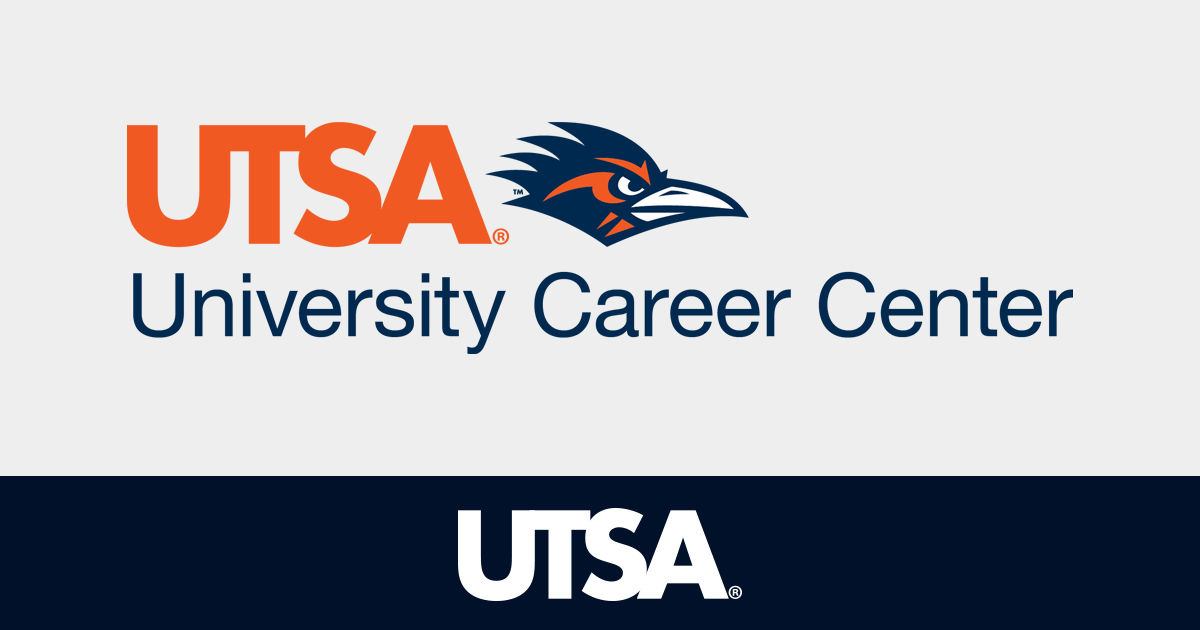 UTSA Career Center  Utsa Resume Template