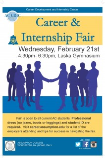 Career & Internship Fair – February 2018