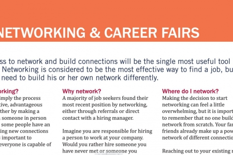 Networking and Career Fairs