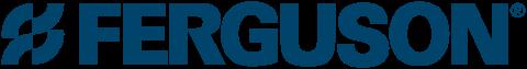 Ferguson logo blue