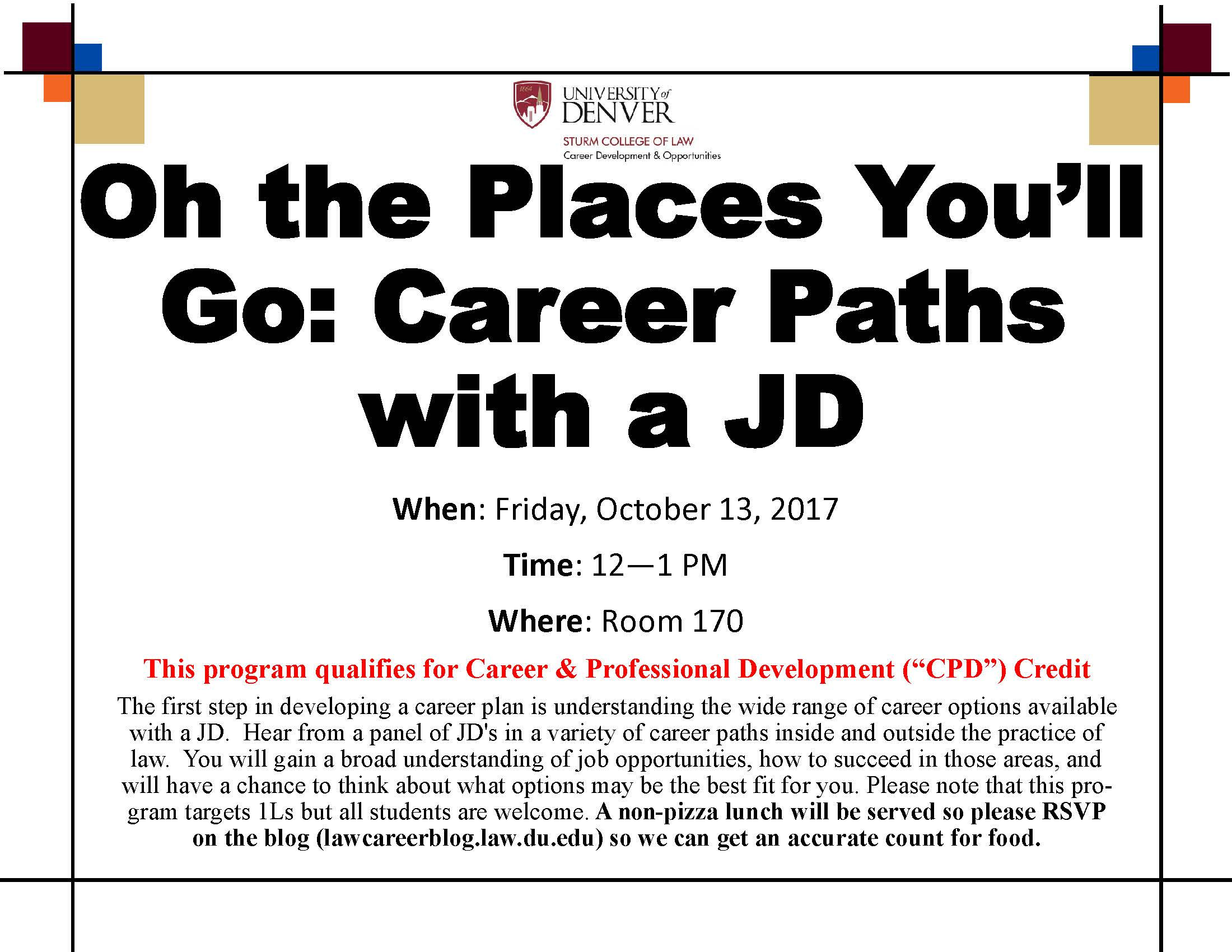 Oh the Places You ll Go Career Paths with a JD – Career Connection