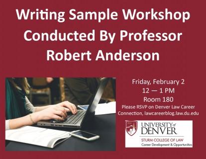 2018 Writing Sample Workshop_Noon