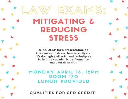 Mitigating Exam Stress