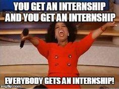 Oprah internship