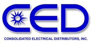 Consolidated Electrical Distributors (CED) logo