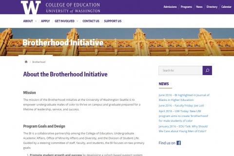 Brotherhood Initiative