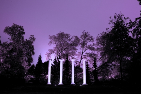 Photo by Katherine Turner. The Columns in Sylvan Grove.