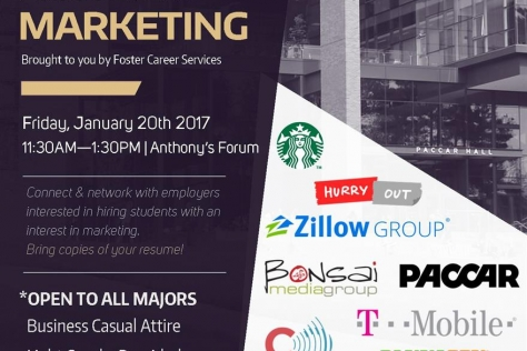 Foster marketing industry event