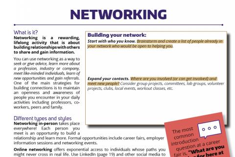 Networking activities