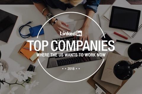 LinkedIn top companies 2018: where the U.S. wants to work thumbnail image