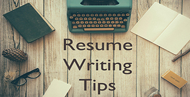 Resume Writing Handout