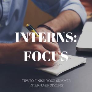 Interns: Focus! thumbnail image
