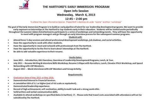 Hartford's Early Immersion Program UPDATED