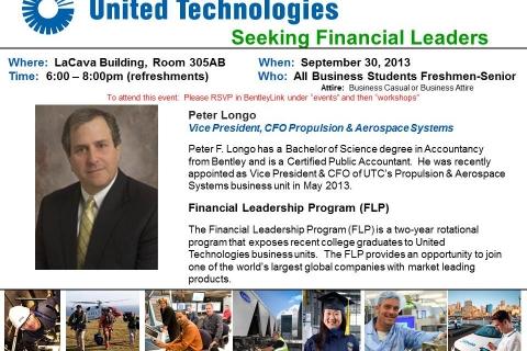 UTC – Open Info Session – Sept 30 2013
