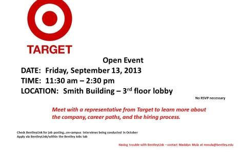 Target Open Event-Table