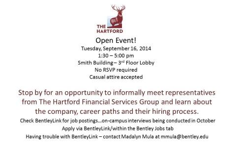 Hartford – Open Event