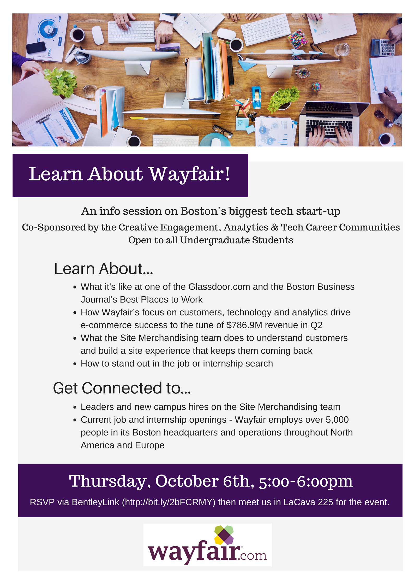 Learn about wayfair co sponsored by the creative for Wayfair jobs