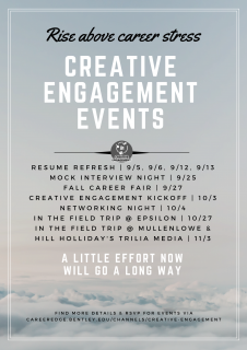 Fall Creative Engagement Events