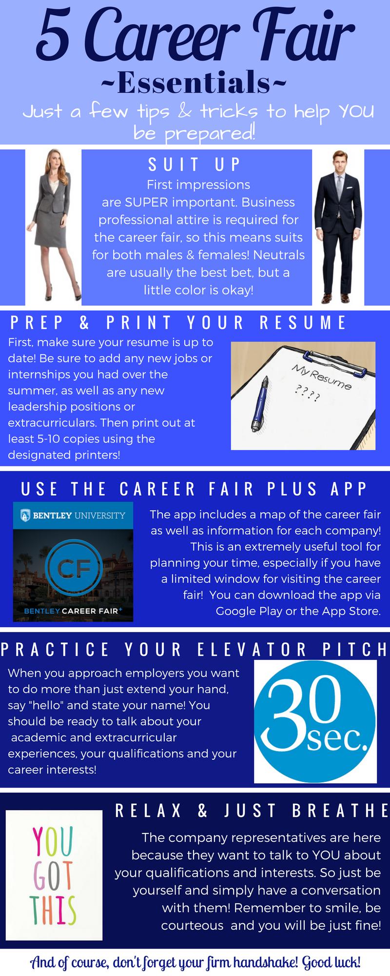 the career fair