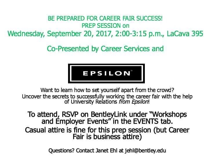 career fair questions