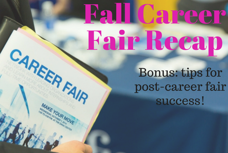 Career Fair Recap