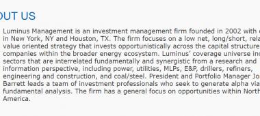 Luminus Management, LLC