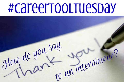 #CareerToolTuesday