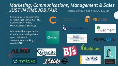 MK just in time job fair flyer