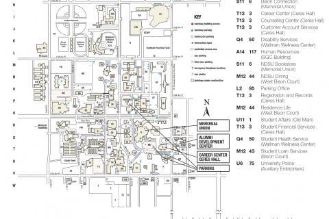 NDSU Campus Map