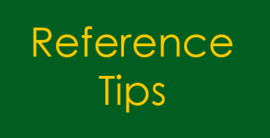 Reference Tips