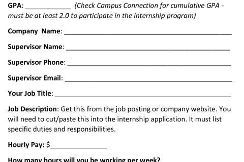 Pre-Appointment Worksheet