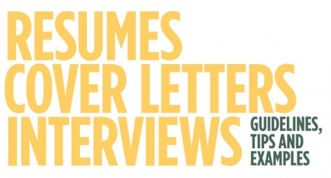 Resumes Cover Letters and Interviewing Career Center North
