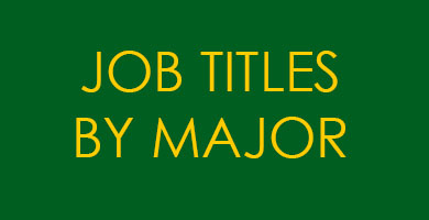 Job Titles by Major