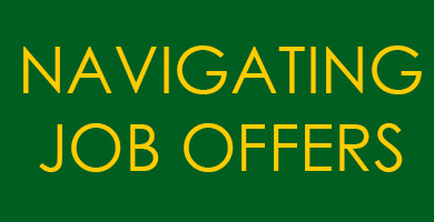 Navigating Job Offers