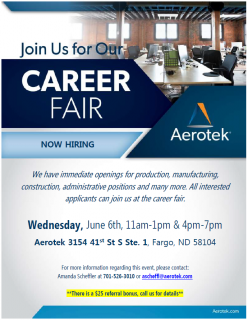 Aerotek Career Fair