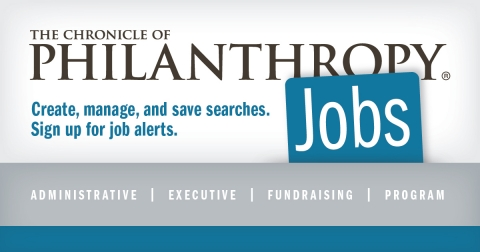 The Chronicle of Philanthropy Job Page