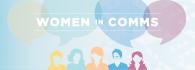 women in comms logo