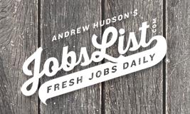 Andrew Hudson's Jobs List