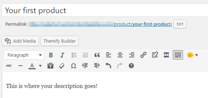 create product - second version