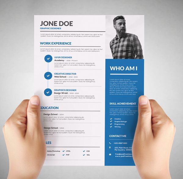 Graphic Design Resume: Failure Or The Right Way To Get Hired  Resume For Designers