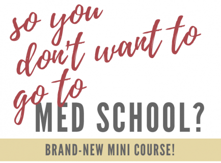 So…You Don't Want to Go to Medical School? thumbnail image