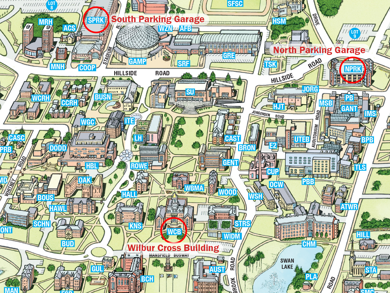 Directions to university of connecticut storrs campus and - Uconn center for career development ...