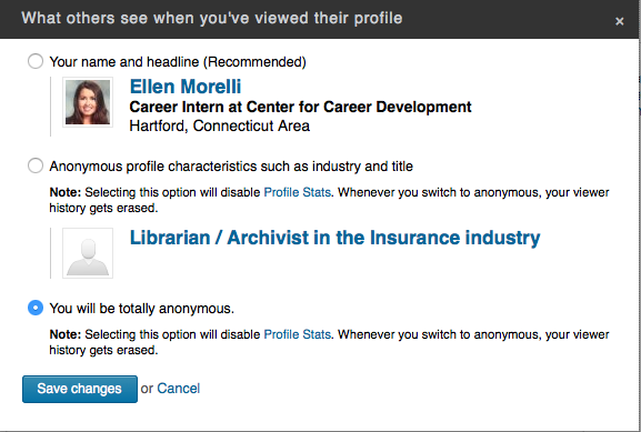 Five elements you probably didn t know about linkedin - Uconn center for career development ...