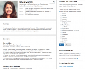 the center for career customize linkedin - Linkedin Url On Resume