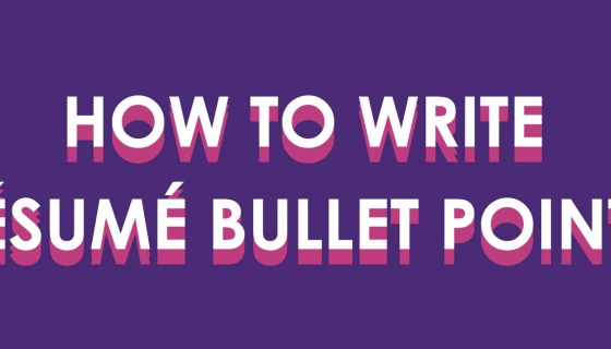 How to Write A Resume Bullet Point – UConn Center for Career Development