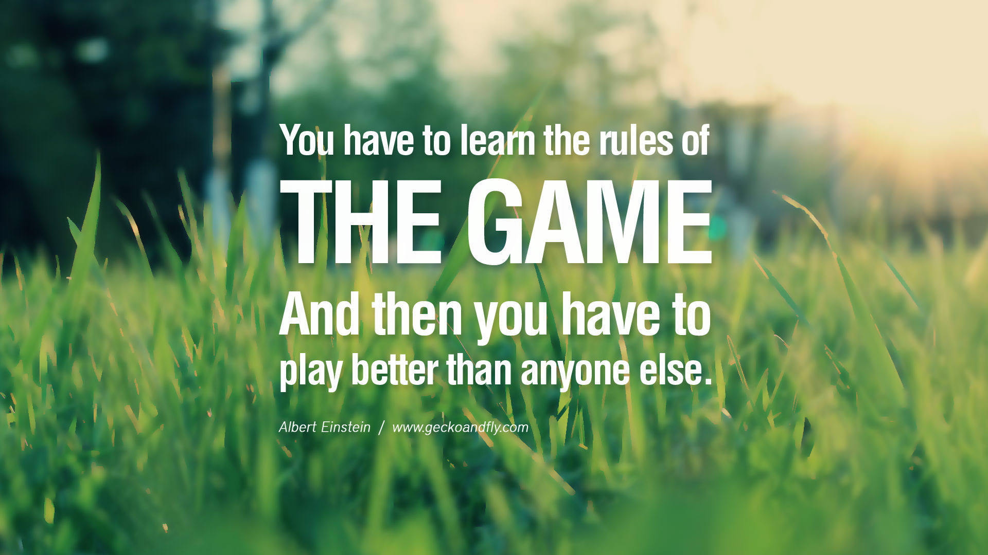 Quotes About Play Learn The Rules Of The Game Then Play Better Than Everyone Else