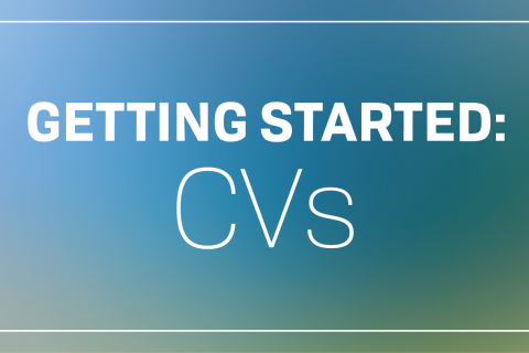 Getting Started: CVs
