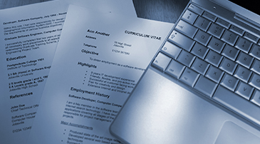 Resume, CV, and Cover Letter Samples