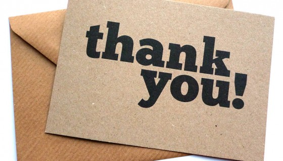 Why PostInterview Thank You Notes Actually Matter  Uconn Center